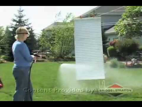 How to Clean Mini blinds with a Pressure Washer