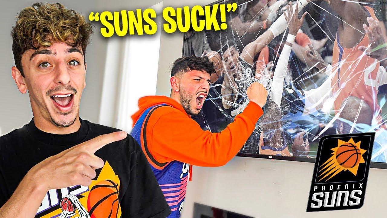 Mocking Brawadis After Suns Lose Championship.. **very angry**