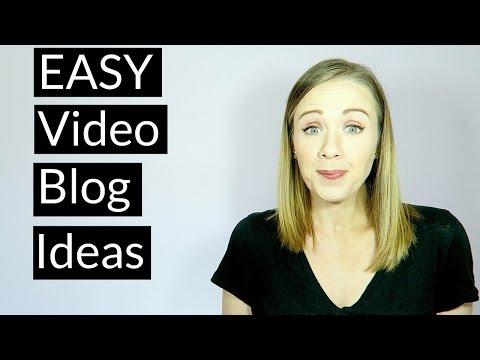 Video Blog Content Ideas