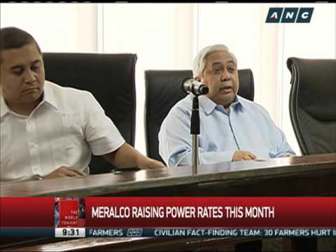 Power, water rates to go up this month