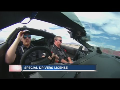 Disabled former race car driver gets license in Las Vegas