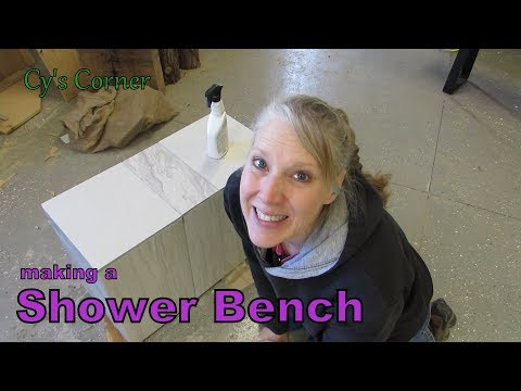 Making a Shower Bench