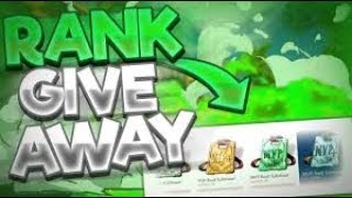 HYPIXEL RANK GIVEAWAY! And gift giveaway!