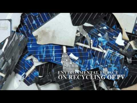 Recycling of Solar PV panels