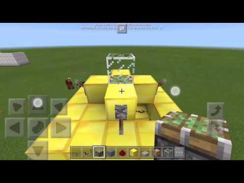 How to make a T.A.R.D.I.S in MCPE