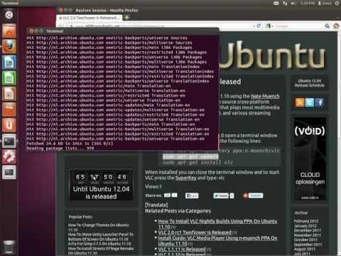 Installing VLC 2.0 Twoflower Using PPA On Ubuntu 11.10