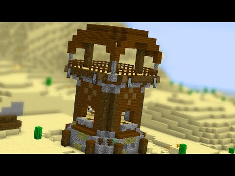 Everything About the Pillager Watchtower in Minecraft