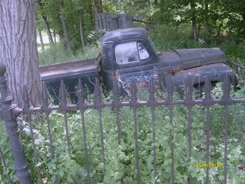 Abandoned houses and cars Pennsylvania New york and New Jersey