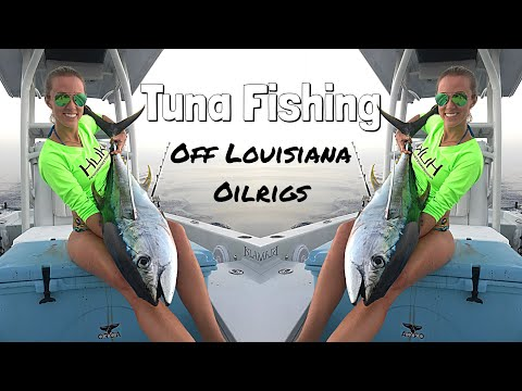 Girls EPIC Overnight Tuna fishing trip, 70 MILES OFFSHORE in a FLATS BOAT!!!