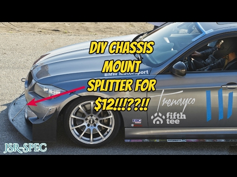 DIY Chassis Mounted Plywood Splitter for $12!!?!?!!