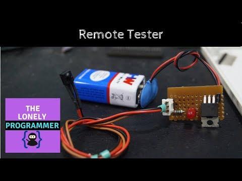 IR Remote Tester - How to make a Remote Control Tester