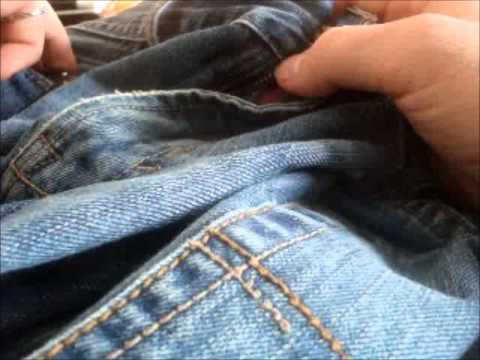 How to Quickly fix an unzipping pair of jeans
