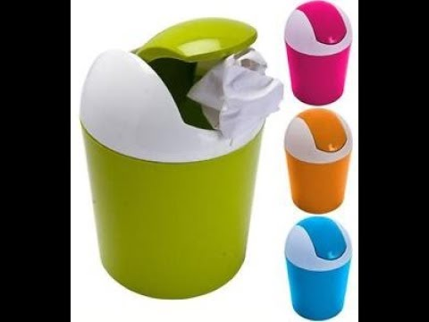 How to make dustbin in five minutes