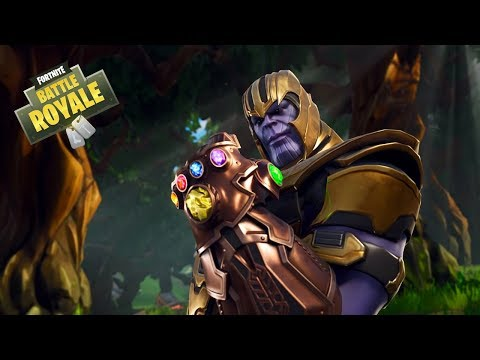 NEW THANOS INFINITY GAUNTLET UPDATE - Fortnite Battle Royale