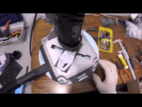 Cutting Carbon sheet with Dremel, Part 1/2
