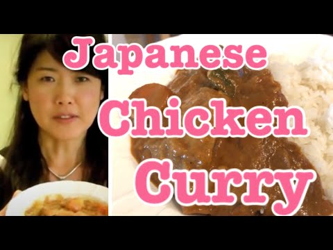Easy Chicken Curry Recipe Japanese way