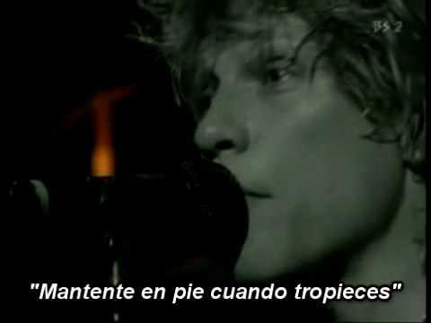 Bon Jovi - Walk Like a Man (Subtitulado, subtítulos Español)