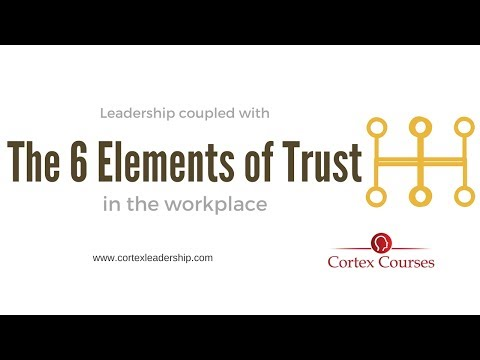 Leadership:  Trust in the Workplace