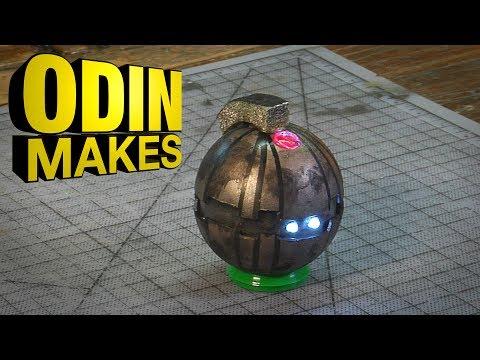 Odin Makes: Thermal Detonator from Return of the Jedi