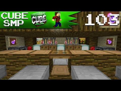 Minecraft Cube SMP: TIKI HUTS AND BAR! - Ep 103