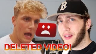 Jake Paul DELETED VIDEO LEAKED! The FALL of TEAM 10? FaZe Rug EXPOSE Video