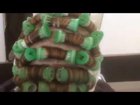 How to do Body wave perm short hair techniques2017, Body haar permanenten,TIPS amal hermuz TV  Hair