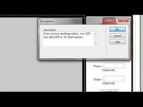 How to add Dreamweaver CS5 meta tags