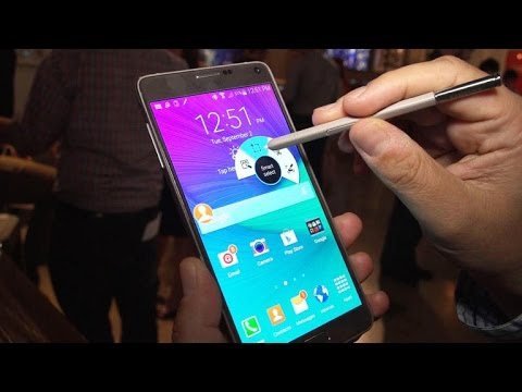 Samsung Galaxy Note 4 has improved camera, screen resolution and more