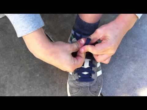 How to tie your shoe laces