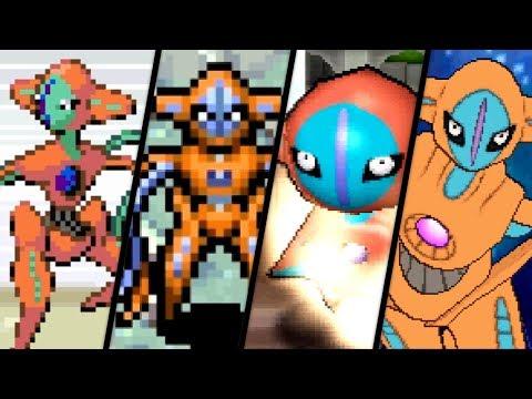 Evolution of Deoxys Battles (2004 - 2018)