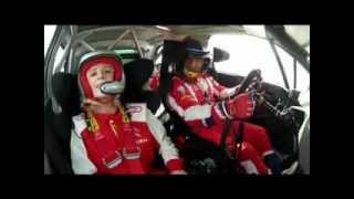 Lara Ruiz copiloto de Sébastien Loeb - Viaje completo- Citröen DS3 WRC Red Bull - Rally