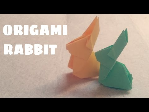 Origami for Kids - Origami Rabbit - Origami Animals