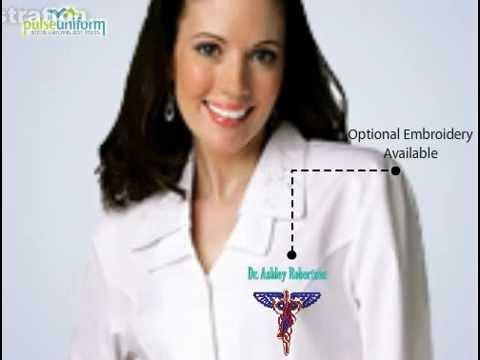 Adar Medical Uniforms - AD-801 Adar Embroidered Dress for Women