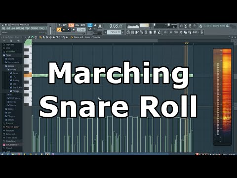 FL Studio Marching Snare Roll Tutorial (Trap)