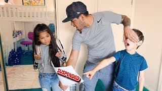 TXUNAMY GOT SUSPENDED FOR 5 DAYS FROM SCHOOL PRANK | Familia Diamond