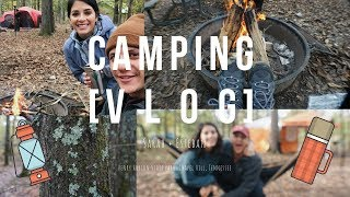 Our FIRST TIME camping! // VLOG