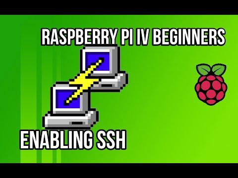 Raspberry Pi - Enabling SSH on Debian