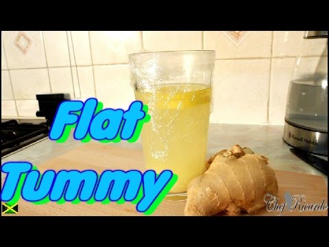Flat Tummy With Ginger Water | Recipes By Chef Ricardo