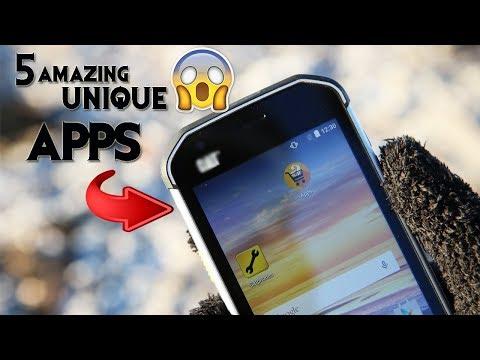 5 INSANE UNIQUE Android apps - December 2017
