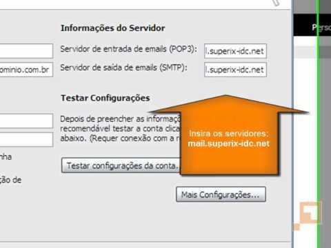 Configurando o seu e-mail no Microsoft Outlook 2003 (POP)