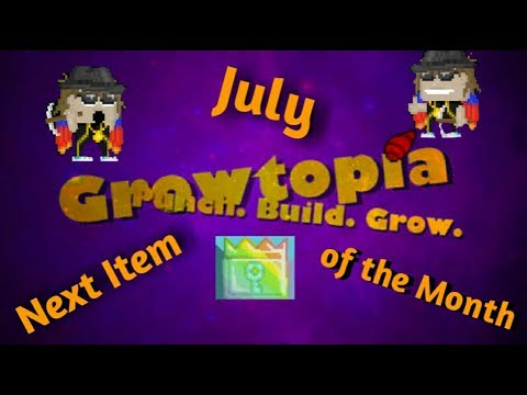 Growtopia| The New Item of the Month 2017