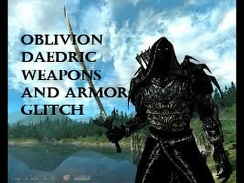 Oblivion Best Console Command Cheats ALL WEAPONS/ARMOR