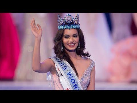 India Manushi Miss World 2017 - Crowning Moment