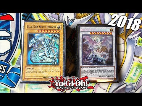 Best Yu-Gi-Oh! Blue Eyes White Dragon Deck Profile 2018! Competitive Going 2nd! WHITE LIGHTNING!