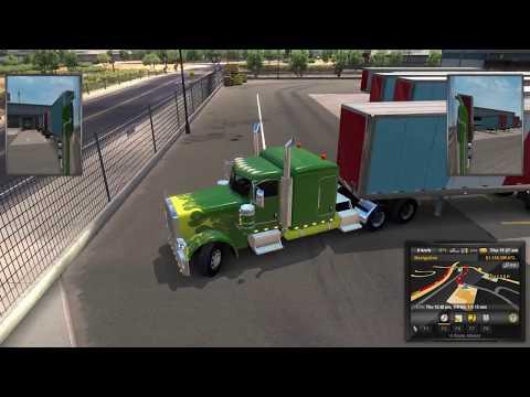 American Truck Simulator Online  Short trips many loads