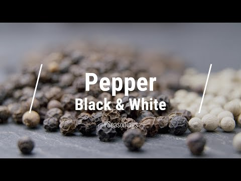 All About White Pepper & Black Pepper || Le Gourmet TV Recipes