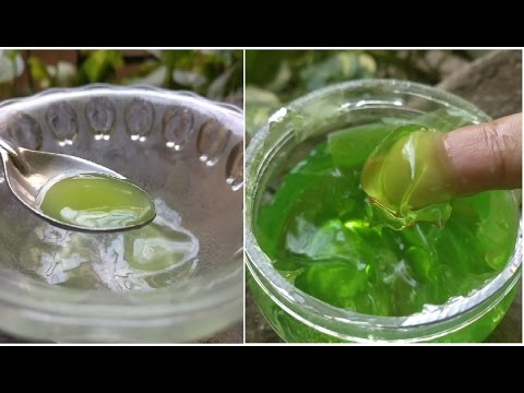 Homemade Cucumber Gel to remove Dark spots, Suntan, acne, pimples, skin whitening