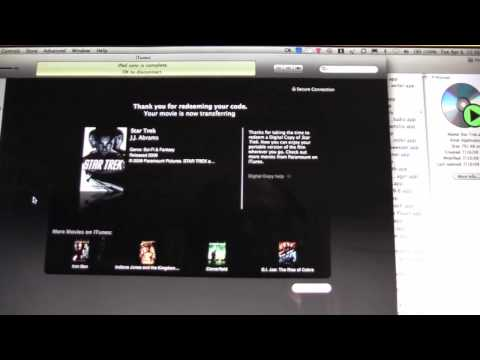 How To: Install Star Trek Digital Copy to iPad