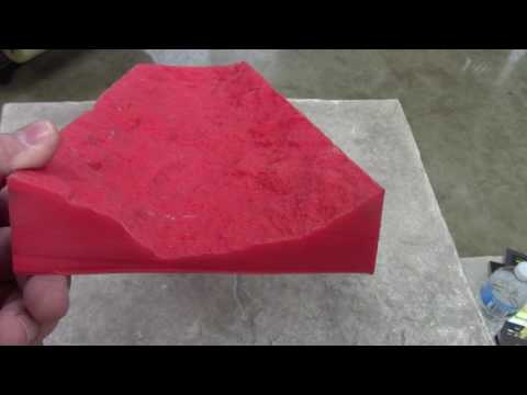 6 inch Stone Step Insert Form Liners for Decorative Concrete