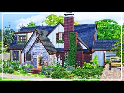 SIMS 4 FAMILY HOME 💜 Speed Build + Download
